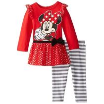 Conjunto Remera - Pantalon Minnie Original Con Etiqueta