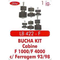 Kit Calço De Cabine F1000 / F4000 Com Ferragem Ano 93/98