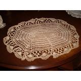 Crochet Centro De Mesa Muy Delicado