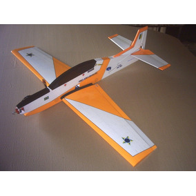 Aeromodelo Tucano T-27 Para Motor Elétrico Frete Gratis !!!