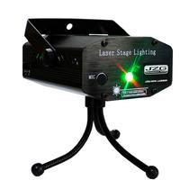 Laser Multipuntos Rojo Y Verde Con Tripie Y Base