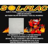 Panel Calefactor Placa Edicion Limitda Oferta Bajo Consumo