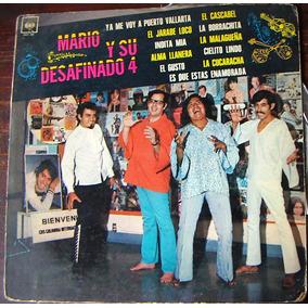 Rock Mex, Mario Y Su Desafinado 4, Lp12´, Hecho En México