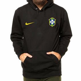 Blusa Moletom Brasil Seleção Brasileira Futebol