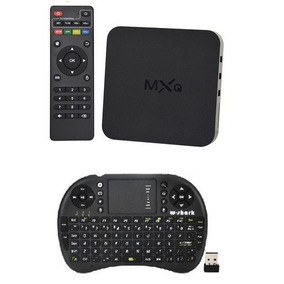 Smart Tv Android Tv Box 4k Hd Wifi Mas Teclado Inalámbrico