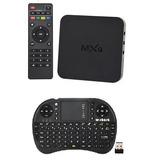 Smart Tv Android Tv Box 4k Hd Wifi Mas Teclado Inalámbrico