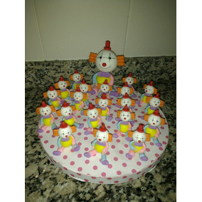 Adorno De Torta Y Souvenirs Payasos