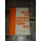 Doctrina De La Procuraduria General De La Republica 1991