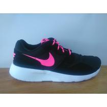 Tenis Nike Kaishi Negro Rosa Dama