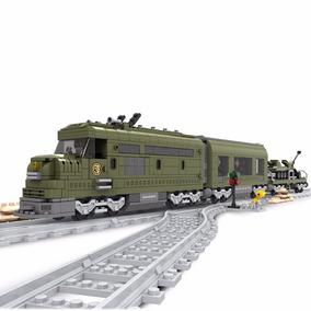 Trem Militar Blocos Montar 764 Pçs Ausini Trains 25003 Lego