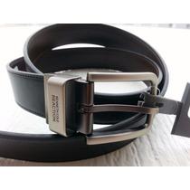 Cinturon Piel Kenneth Cole Reversible 100% Original Nuevos