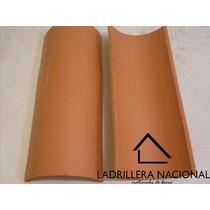 Millar Teja Prensada De Barro Tipo Media Caña De 40 Cm