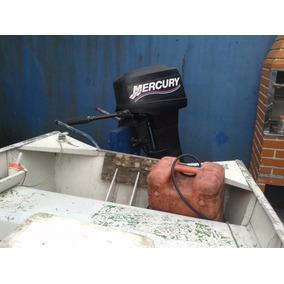 Vendo Barco 5m Com Motor Mercuy 18hp Carreta