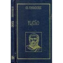 Livro Platão - Vida E Obra Coleção Os Pensadores Platão