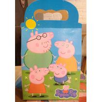 Aa Peppa Pig 50 Cajas Articulos De Fiesta