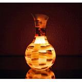 Lámpara Jarrón (hecha En Ónix)