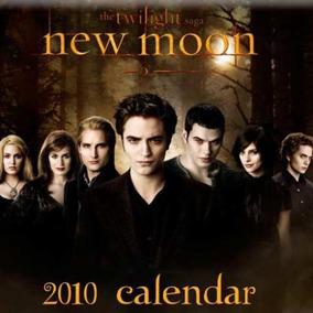 Calendarios Twilight Saga New Moon Luna Nueva 2010