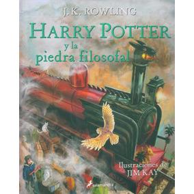 Harry Potter 1 Y La Piedra Filosofal . Ilustrado. Tapa Dura