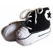 Botitas Zapatillas Para Bebés Tejidas Al Crochet