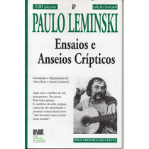 Paulo Leminski Ensaios E Anseios Cripticos