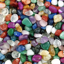 Pedras Roladas Mistas Semi Preciosas 1 Kilo - No Atacado