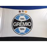 Bandeira Grêmio 1,70 X 1,30 Escudo Silkado