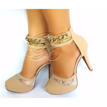 Scarpin Salto Alto Lindo Sapato Feminino Top Sandália Festa