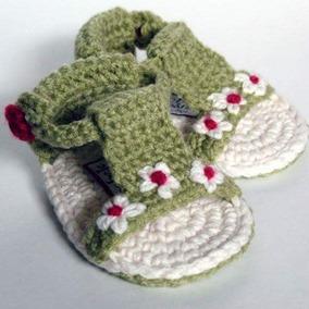 Colección Huaraches Para Bebé Tejido Crochet