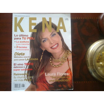Laura Flores En La Revista Kena Especial Diabetes 2005