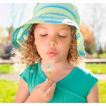 Sombrero Kids Poppy Protección Solar Upf 50+ Viaje, Playa