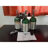 Kit 3 Tubos De Oxigeno Medicinal Con Ahorrador De Oxigeno