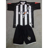 Kit Infantil Camisa + Short Atletico Mg - Galo