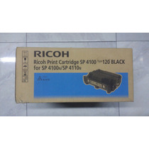 Cartucho De Toner Ricoh Sp4100 Type 120 Black