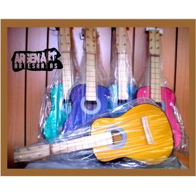 Guitarrita Juguete Niños Envios Criolla Madera 6 Cuerdas