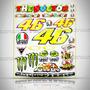 Cartela Valentino Rossi Magrão Triciclos Mt7 Chopper 24 Ades