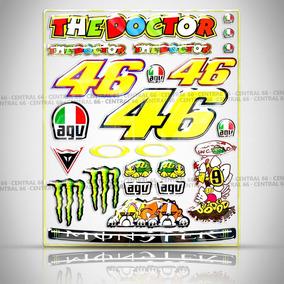 Cartela Valentino Rossi Shineray Xy 150-5 Speed 24 Adesivos