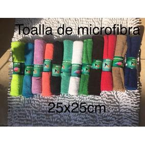 Paquete De 50 Toallas De Microfibra 25x25cm P/manualidades