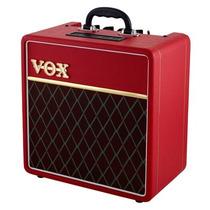 Vox Ac4c1 Amplificador Para Guitarra Valvular 4w Rojo