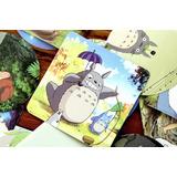 Colección Con 20 Stikers Del Anime Totoro (studio Ghibli)