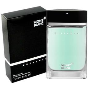 Perfume Mont Blanc Presence 75ml Masculino Pronta Entrega