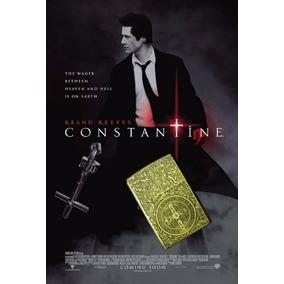 Isqueiro Zippo John Constantine Keanu Reeves Dourado Filme