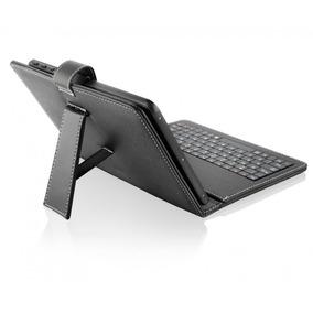 Mini Teclado Para Tablet Slim Usb E Capa Para Tablet