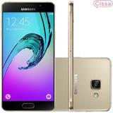 Samsung Galaxy A7 A710 Duos 16gb 5.5 Dourado Desbloqueado