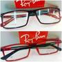 Rb8452 Armação Esportiva Receituário Óculos Várias Cores
