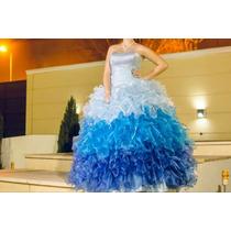 Vestido De Quince Dos Faldas