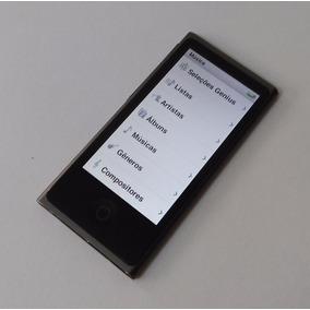 Ipod Nano 7 16gb Bluetooth Cinza Rádio Fm - Usado - 4gk64