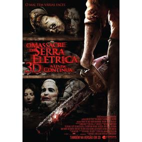 Poster O Massacre Da Serra Elétrica 3d Original De Cinema