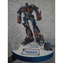 Centros De Mesa De Transformers De 25cm
