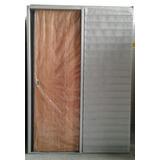 Puerta Corrediza Embutir Chapa 18 Cedro 60/70x200 Tabique 10