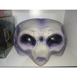 Extraterrestre Roswell Alien Mascara Latex Halloween Cosplay